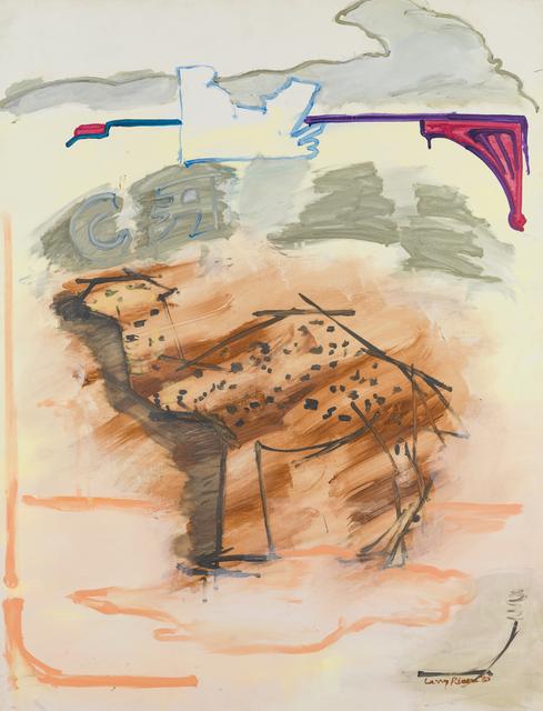 , 'Cream Camel,' 1980, Tibor de Nagy