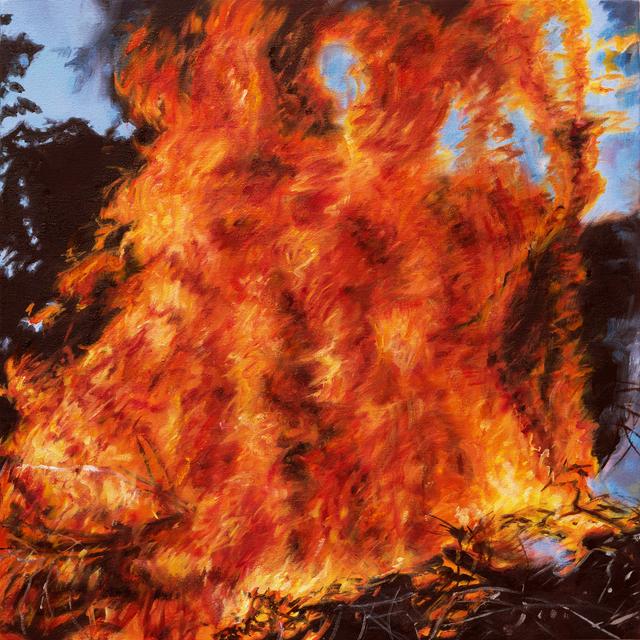 , 'Burn,' 2017, Abbozzo Gallery
