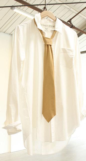 , 'Man's White Formal Shirt With Tie,' 2016, Eckert Fine Art