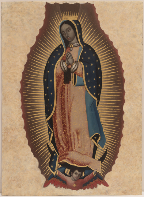 , 'Nuestra Señora de Guadalupe,' ca. 1750, Peyton Wright Gallery