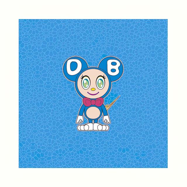 Takashi Murakami, 'DOB 2020 Light BLUE', 2020, Print, Lithograph, Pinto Gallery