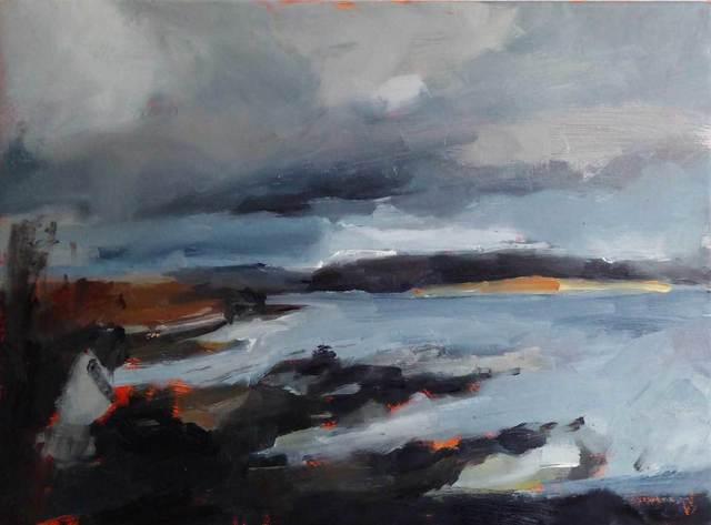 , 'Broadford, Isle of Skye,' 2016, Mall Galleries