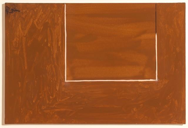 , 'Open Study in Tobacco Brown (P160),' 1971, Miriam Shiell Fine Art
