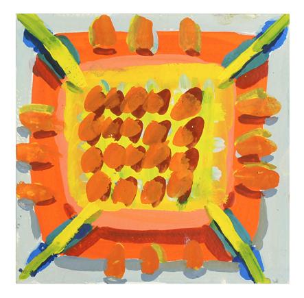 , 'Orange Grate,' 2017, Rick Wester Fine Art
