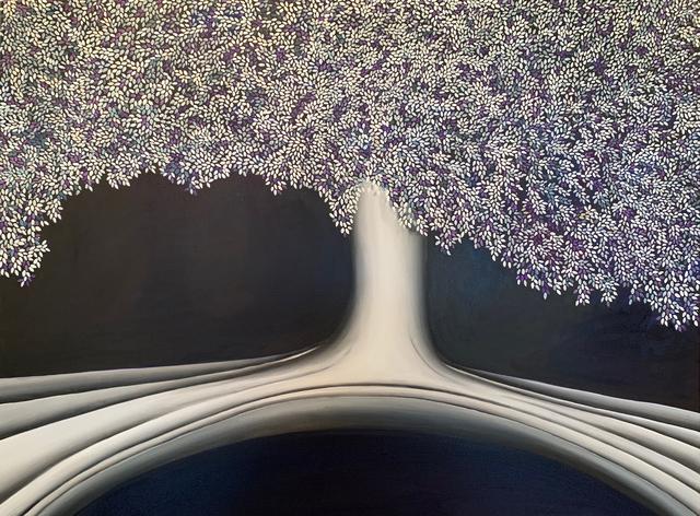 , 'Tree II +(A)   (original oil),' 2019, Gallery13