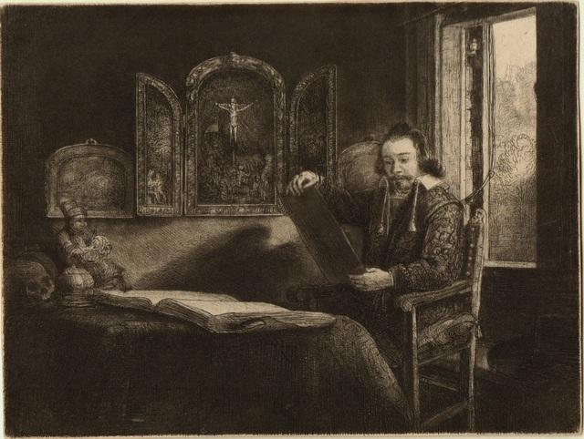 , 'Abraham Francen, Apothecary,' 1657, Frederick Mulder