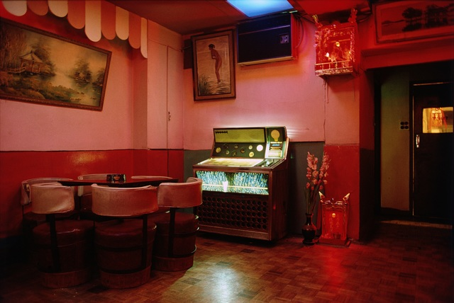 , 'Bar Interior ,' 1985, Blue Lotus Gallery