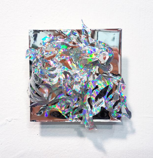Julia Sinelnikova, 'Holographic Sprite', 2013-2016, Mixed Media, Holographic Sprite hand cut vinyl, mylar, acrylic, resin, Wallplay