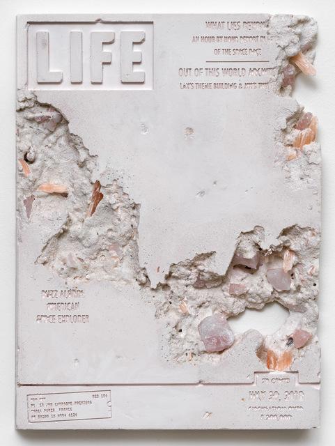 , 'Rose Quartz Eroded Life Magazine,' 2018, Galerie Ron Mandos