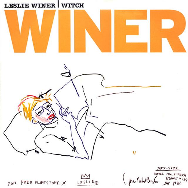 Jean-Michel Basquiat, 'Leslie Winer - Witch', 1999, EHC Fine Art Gallery Auction