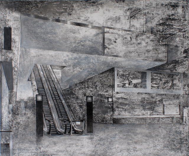 , 'Geometric structures - Stairs ,' , curator19.90