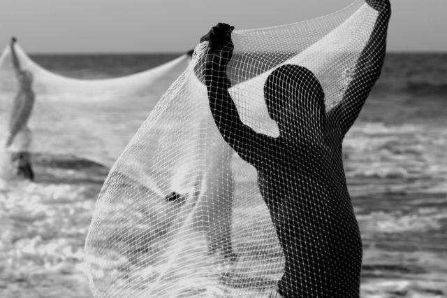 , 'Net Fishing,' 2018, MOVART