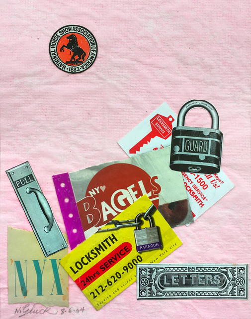 , 'Bagels and Locks,' 2004, Luis De Jesus Los Angeles