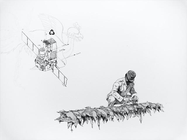 , 'Le Battement des Ailes No.XIX,' 2017, Selma Feriani Gallery