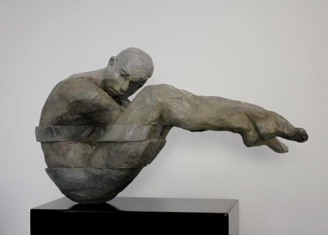 Rogerio Timoteo, 'Origin', 2018, Sculpture, Bronze and steel, Plus One Gallery