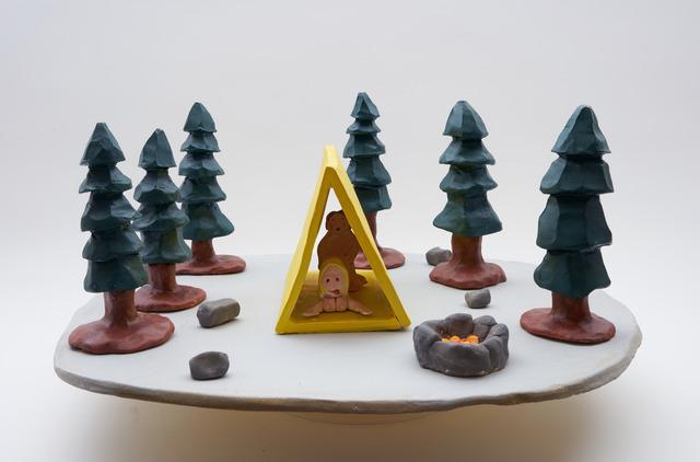 , 'Camping at night,' 2016, Nils Stærk