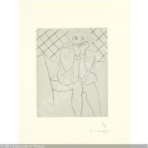 , 'FIGURE ASSISE MAINS AU MENTON,' , Galerie Maximillian