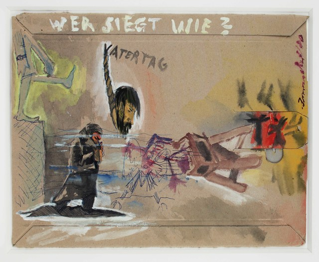 , 'Wer siegt wie? Vatertag ( Who wins how ? Father's day),' 1980, Suzanne Tarasieve