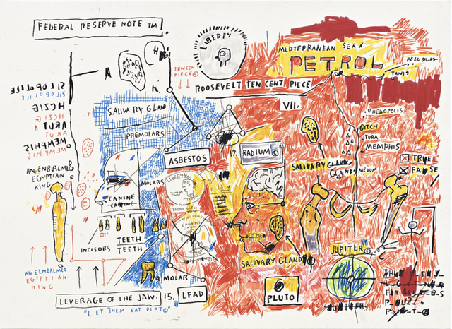 Jean-Michel Basquiat, 'Liberty', 1982-1983/2017, Print, Screen print on paper, Hang-Up Gallery