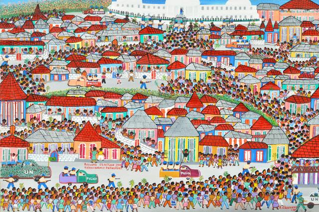 , 'Résultat de l'éléction présidentielle de 2006,' , Le Centre d'Art d'Haïti