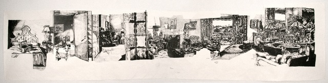 , 'Mrs. Bourne's Bedroom (East Side, West Side),' 2012, Pierogi