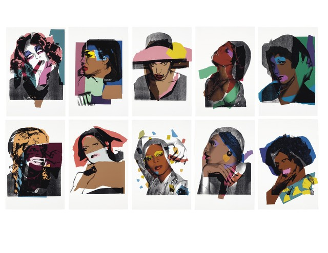 Andy Warhol, 'Ladies and Gentlemen, F.S.II.128-137', 1975, Print, Screenprint on Arches paper, JF Fine Arts & Verosa