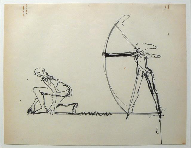, 'Artist Couple,' 1978, Edward Thorp Gallery