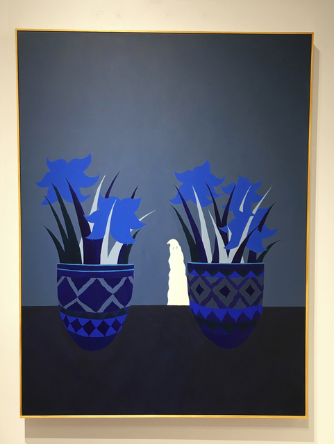 , 'Good Mourning to You (Blue),' 2016, CORDESA