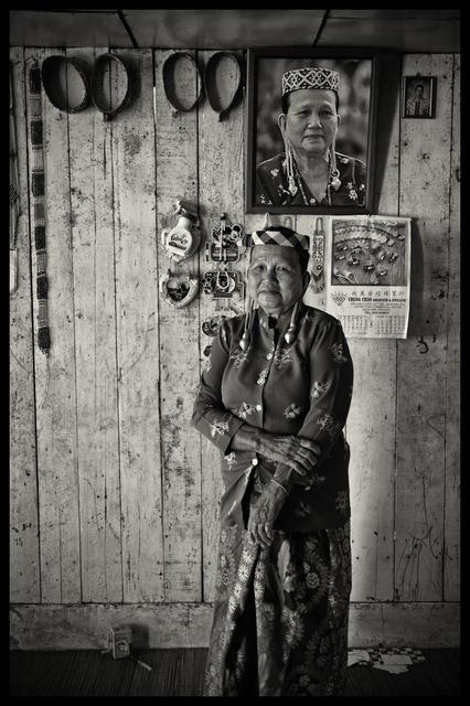 , 'Kayan Elder, Long Lama, Sarawak, Malaysia,' 2015, SCShekar