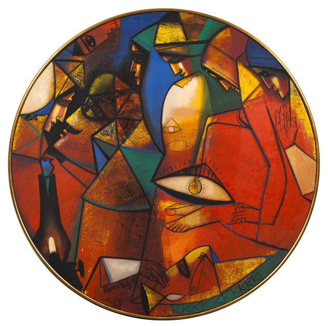 , 'Life is a Full Circle,' 2014, Art Alive Gallery