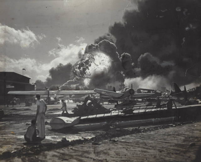 Anonymous, 'U.S. Navy Photograph - Hawaii Naval Station Air Raids, Dec 7 1951', 1951, Elizabeth Houston Gallery