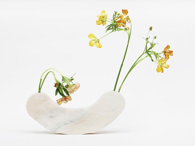 , 'Hard Round Marble Vase,' 2017, Patrick Parrish Gallery