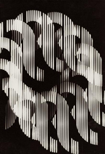 , 'Série Univers Tramé (Varetra Diversicateur Optique) Nr.6,' 1974, Maddox Arts