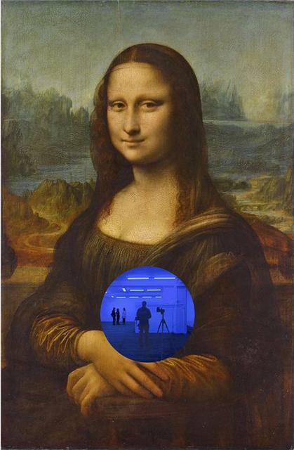 , 'Gazing Ball (da Vinci Mona Lisa),' 2017, Galerie de Bellefeuille