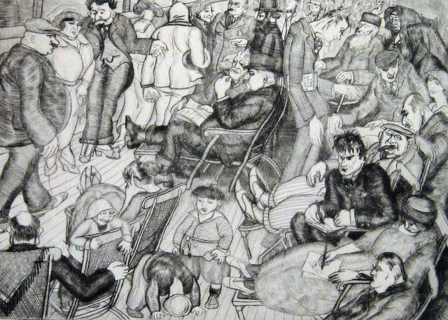 , 'The Promenade Deck,' 1920, Paramour Fine Arts