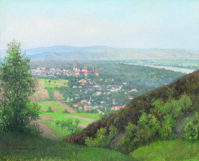 , 'View to Klosterneuburg,' 126, Galerie Kovacek & Zetter