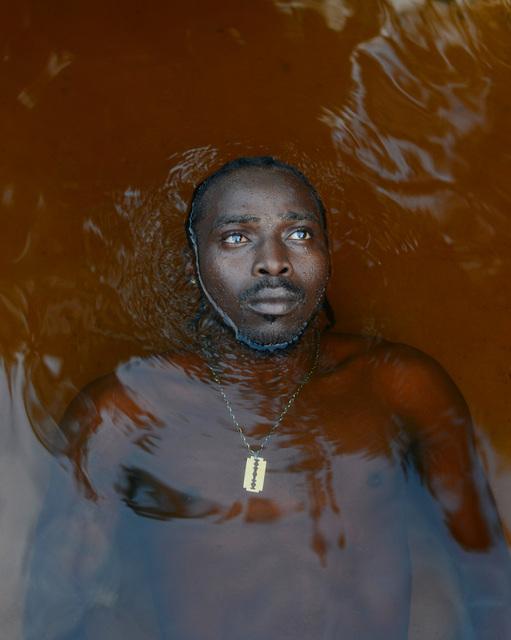 , 'Adrien Ajintoena, Obiaman and Survivor of the Moiwana Maroon Massacre in Suriname (29 November 1989),' 2014, L'agence à Paris