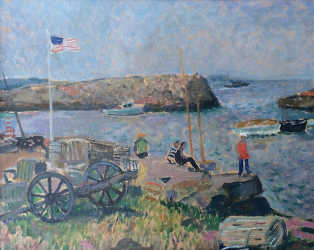 , 'Rockport,' , Caldwell Gallery Hudson
