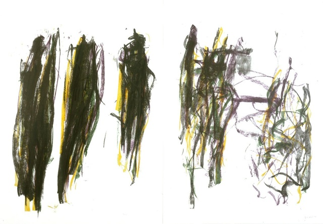 , 'Trees II (Diptych),' 1992, Andrea S. Keogh Art and Design