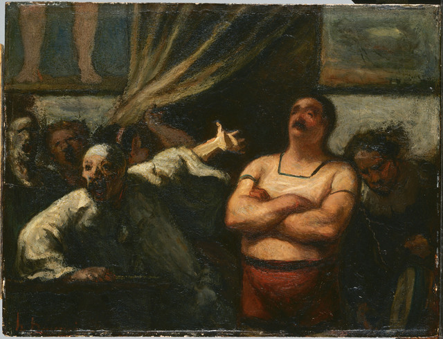 Honoré Daumier, 'The Strong Man', ca. 1865, Phillips Collection