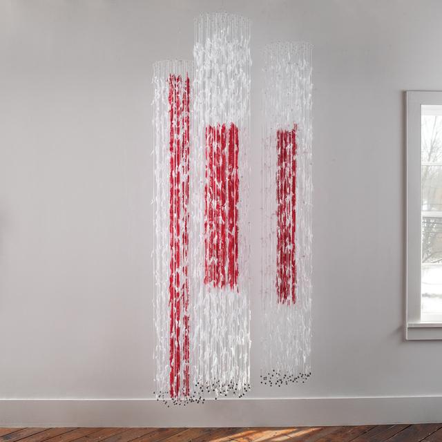 , 'Coulée les de Fils I, II, III,' 2011, browngrotta arts