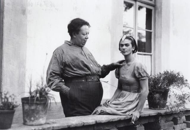 , 'Diego And Frida On the Terrace,' 1930, Matthew Liu Fine Arts