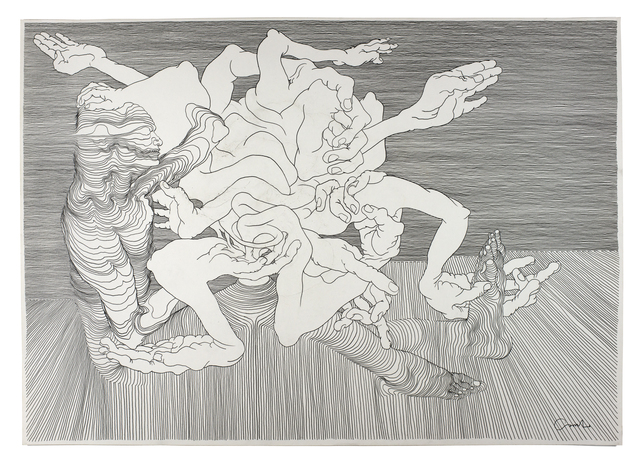 , 'Graphite #3,' 2012, V1 Gallery