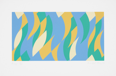 Bridget Riley, 'Frieze,' 2000, Phillips: Evening and Day Editions