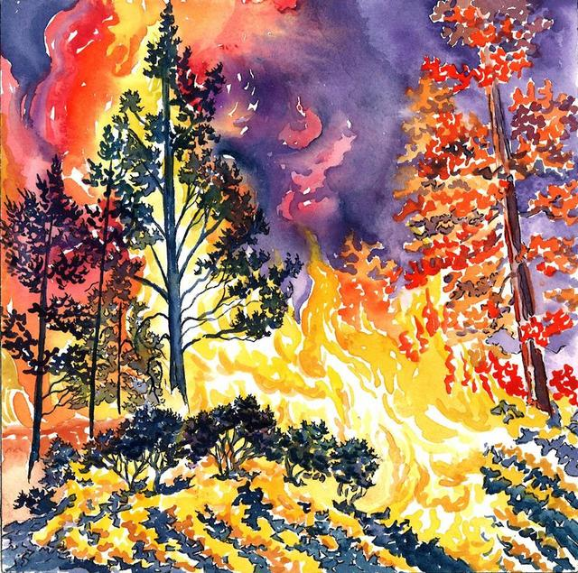, 'New Mexico Wildfire,' 2014, Ro2 Art