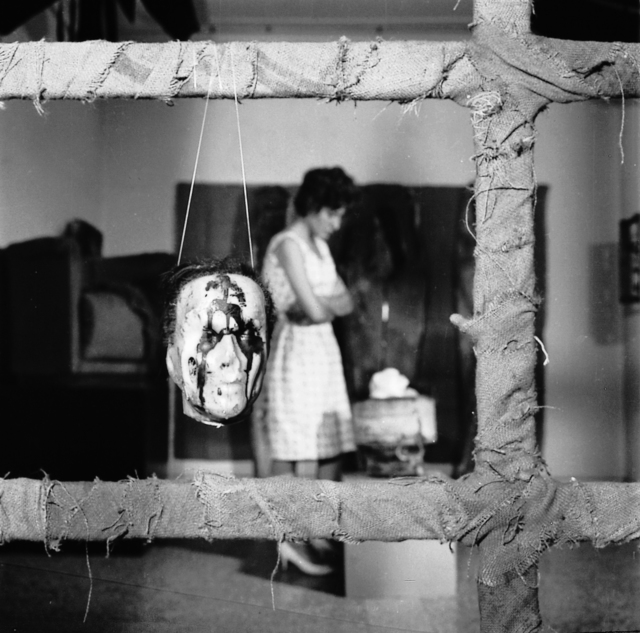 , 'Arte destructivo,' 1961, Cantor Fitzgerald Gallery, Haverford College