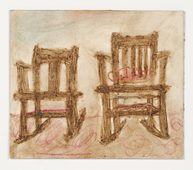 , 'Untitled (Two chairs, verso: one chair),' , Fleisher/Ollman