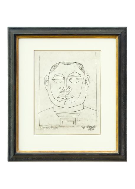 , 'Maske eines Geistlichen (Clerical Mask),' 1950, Hagemeier
