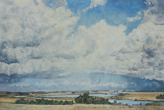 , 'Clouds Over Prairie,' 2009, Wallace Galleries