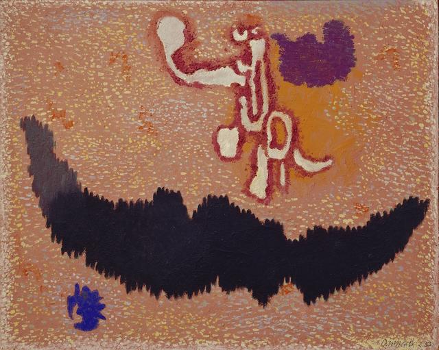 , 'Schwarzwald auf rotem Grund,' 1953-1954, Jahn und Jahn
